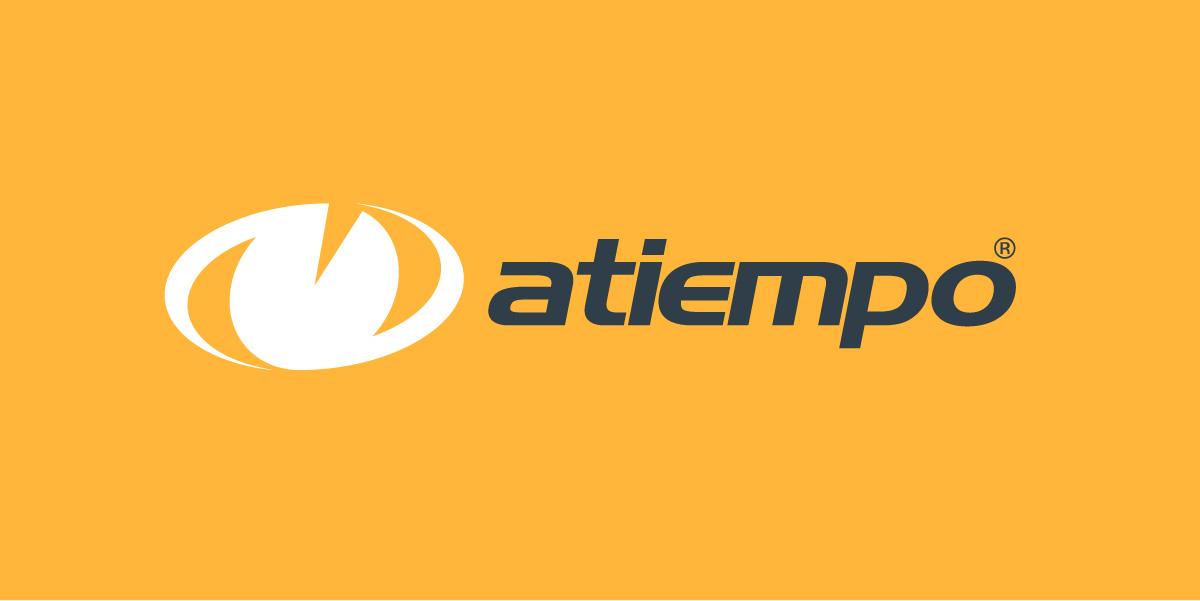 Diseño de Logotipo Atiempo Horizontal