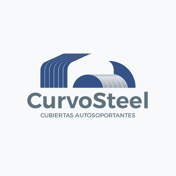 diseño de logotipo curvosteel