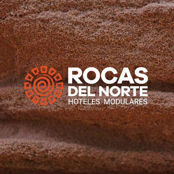 Diseño de imagen corporativa Rocas del Norte fondo imagen
